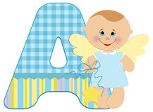 Baby's alphabet Royalty Free Stock Images
