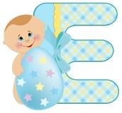 Baby's alphabet Royalty Free Stock Photo