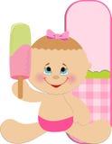 Baby's alphabet Royalty Free Stock Image