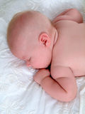 Baby's Asleep Royalty Free Stock Photography