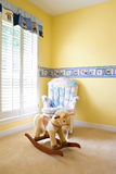 Baby's bedroom Stock Photo