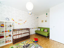 Baby's bedroom . Royalty Free Stock Photo