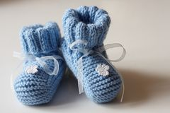Free Baby S Bootees Royalty Free Stock Photo - 16250615