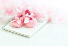 Free Baby S Bootees Stock Photos - 54578733