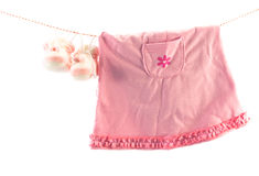 Baby's clothes Royalty Free Stock Photos