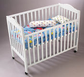Baby's cot Royalty Free Stock Images