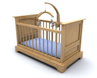 Baby's cot Royalty Free Stock Image