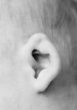 Baby's ear Royalty Free Stock Photos