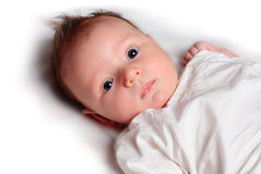 Baby's face Royalty Free Stock Images