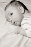 Baby's face Royalty Free Stock Photo