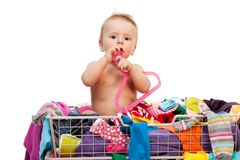 Baby's fashion Royalty Free Stock Photo