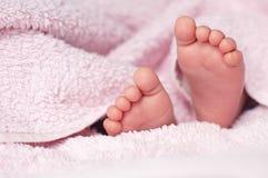 Baby's feet Royalty Free Stock Photos