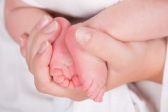 Baby's feet Royalty Free Stock Image