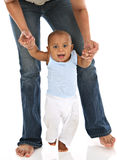 Baby's First Step Stock Image