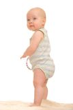 Baby's first steps Stock Photography