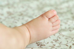 Baby's  foot Stock Images