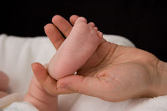 Baby's foot Royalty Free Stock Photography