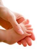 Baby's foot Stock Photos