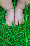 Baby's foot Royalty Free Stock Images