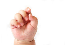 Baby's Hand Royalty Free Stock Image