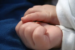 Baby's hands Royalty Free Stock Images