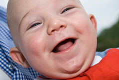 A Baby's Laugh /Smile Stock Photography