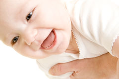 Baby's portrait Stock Photos