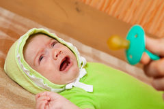Baby's salve Stock Photos