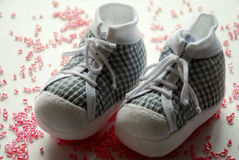 Baby's shoes Royalty Free Stock Image