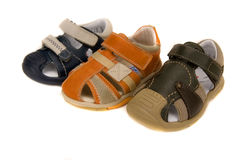 Baby's shoes Stock Photos