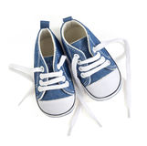 Baby's shoes Stock Images