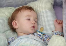 Baby's sleep Royalty Free Stock Images