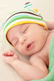 Baby's sweet dreams Royalty Free Stock Images