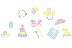 Baby's things Stock Photo