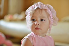 Baby's view Stock Image