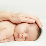 Baby - safety concept Royalty Free Stock Photos
