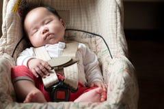 Baby safety concept Stock Photos