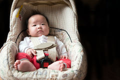 Baby safety concept Royalty Free Stock Image