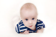 Baby sailor Stock Photos