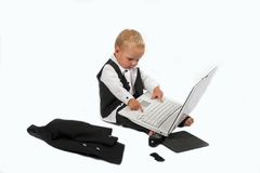 Baby sales executive 12 Royalty Free Stock Photo