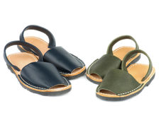 Baby Sandals Avarcas Royalty Free Stock Photo