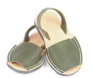 Baby Sandals Avarcas Royalty Free Stock Image