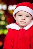 Baby Santa Stock Photography