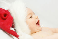 Baby santa Stock Photos