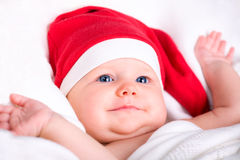 Baby Santa Royalty Free Stock Photography
