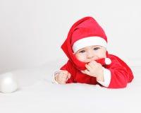 Baby Santa Claus Royalty Free Stock Photography