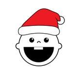 Baby Santa claus. Art design Stock Photos