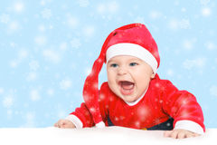 Baby Santa Claus Royalty Free Stock Image