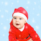 Baby Santa Claus Stock Photos