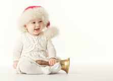 Baby santa claus Royalty Free Stock Photos
